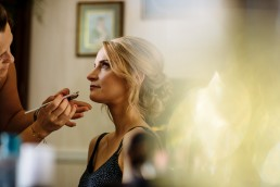 Pippingford Park wedding getting ready