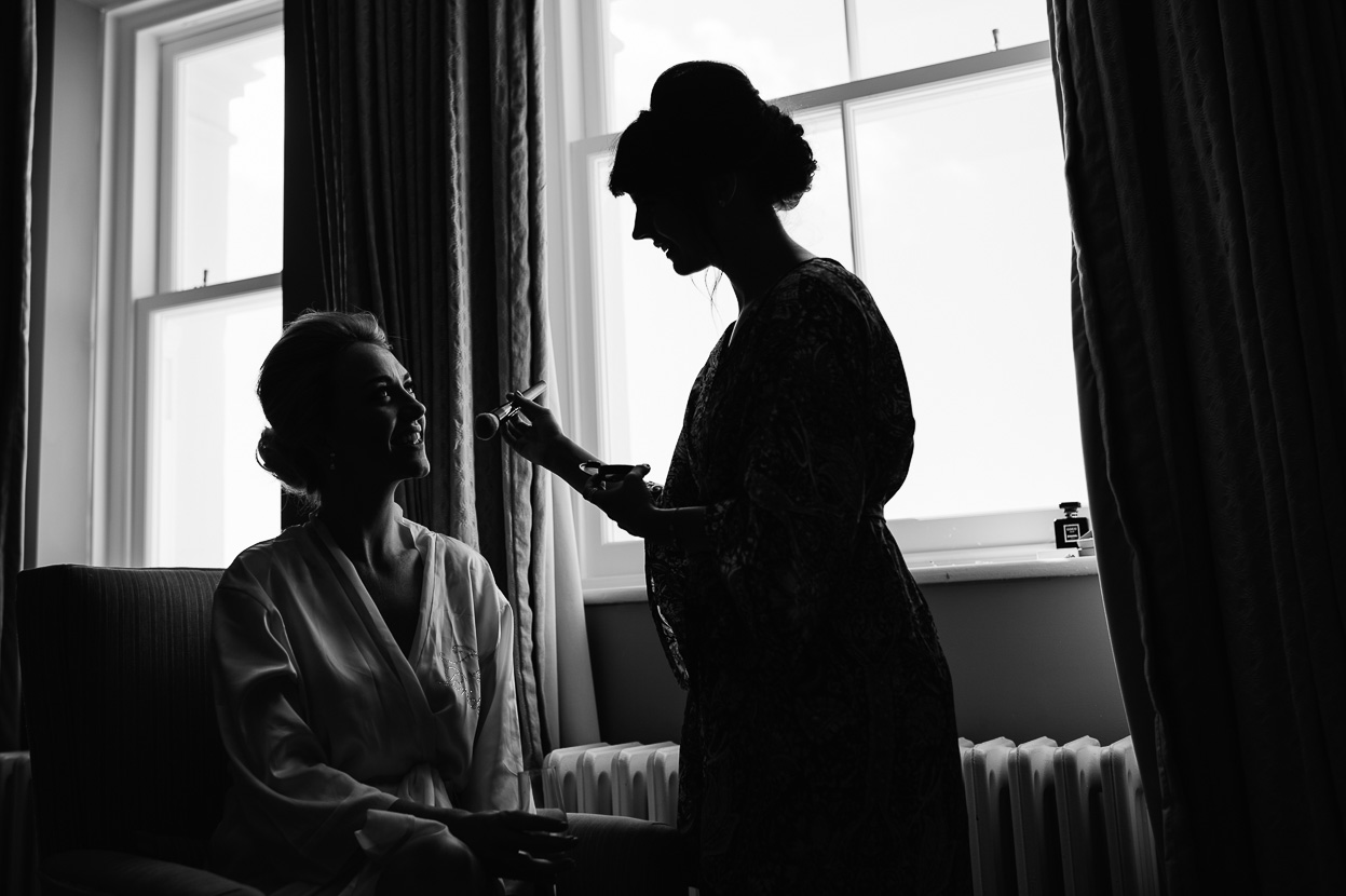 The Grand Brighton bride getting ready