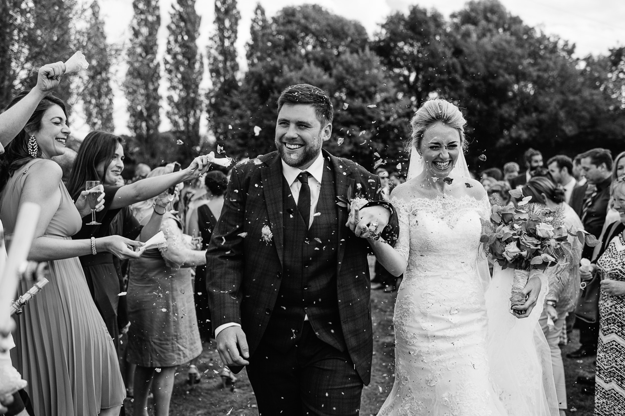 Four Oaks Farm wedding confetti