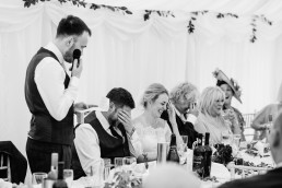 Four Oaks Farm wedding speeches