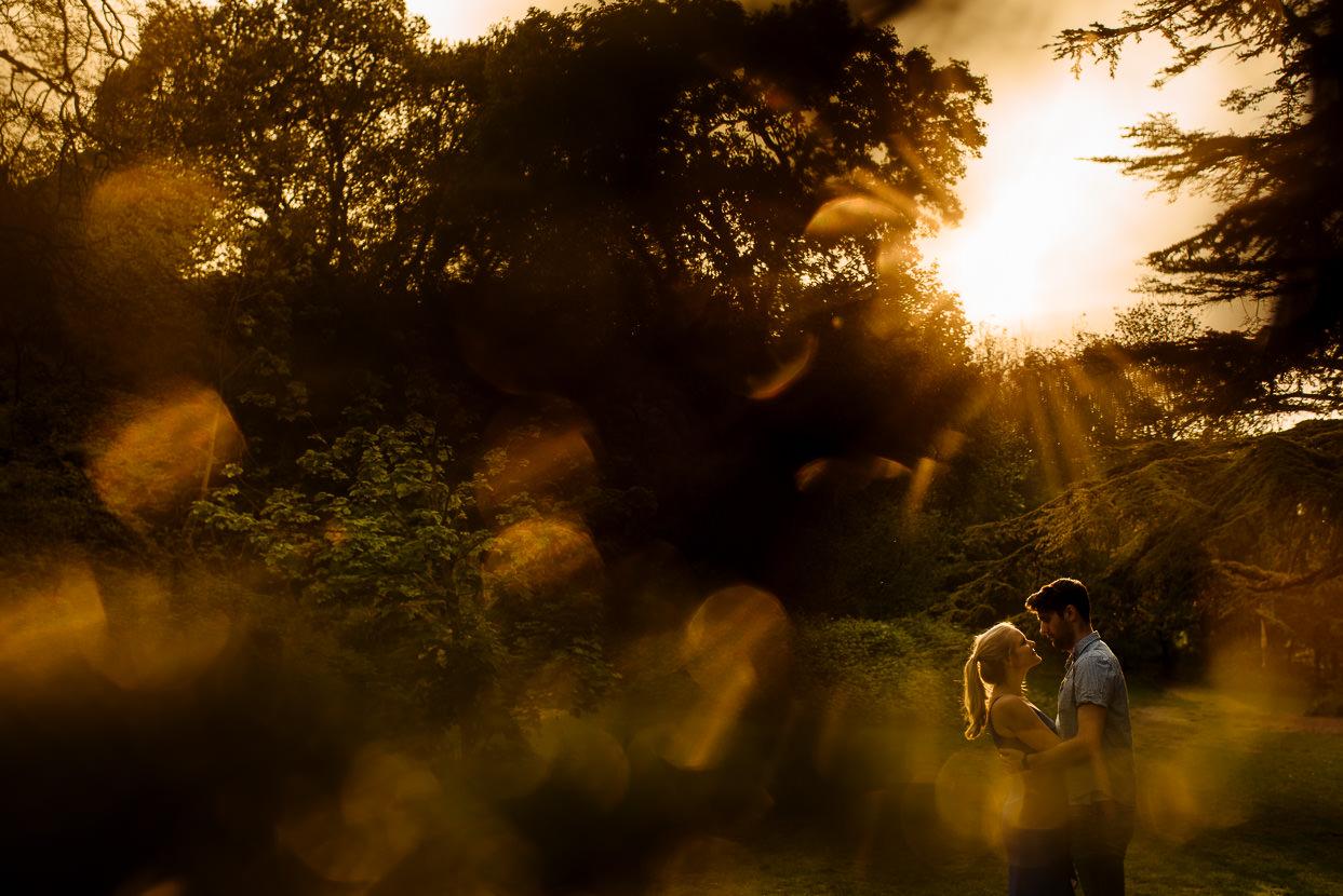 Stanmer Park Brighton pre wedding shoot