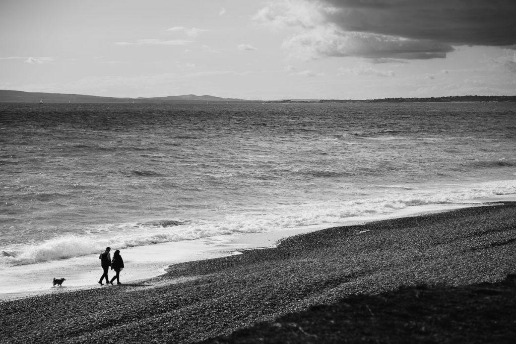 Bournemouth engagement shoot Hengistbury Head