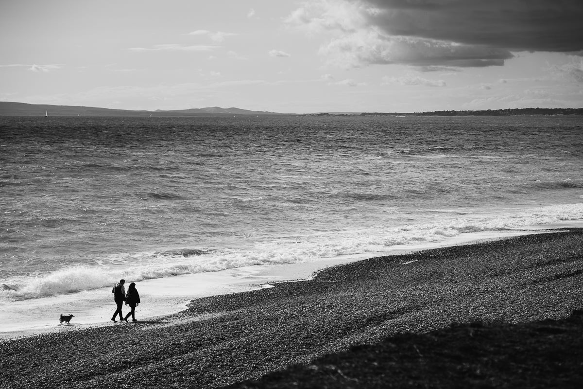 Bournemouth engagement shoot Hengistbury Head