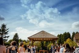 Brookfield Barn wedding ceremony