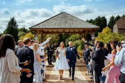 Brookfield Barn wedding confetti