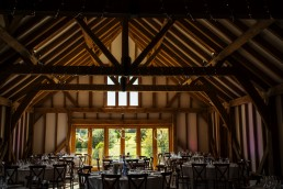 Brookfield Barn wedding reception