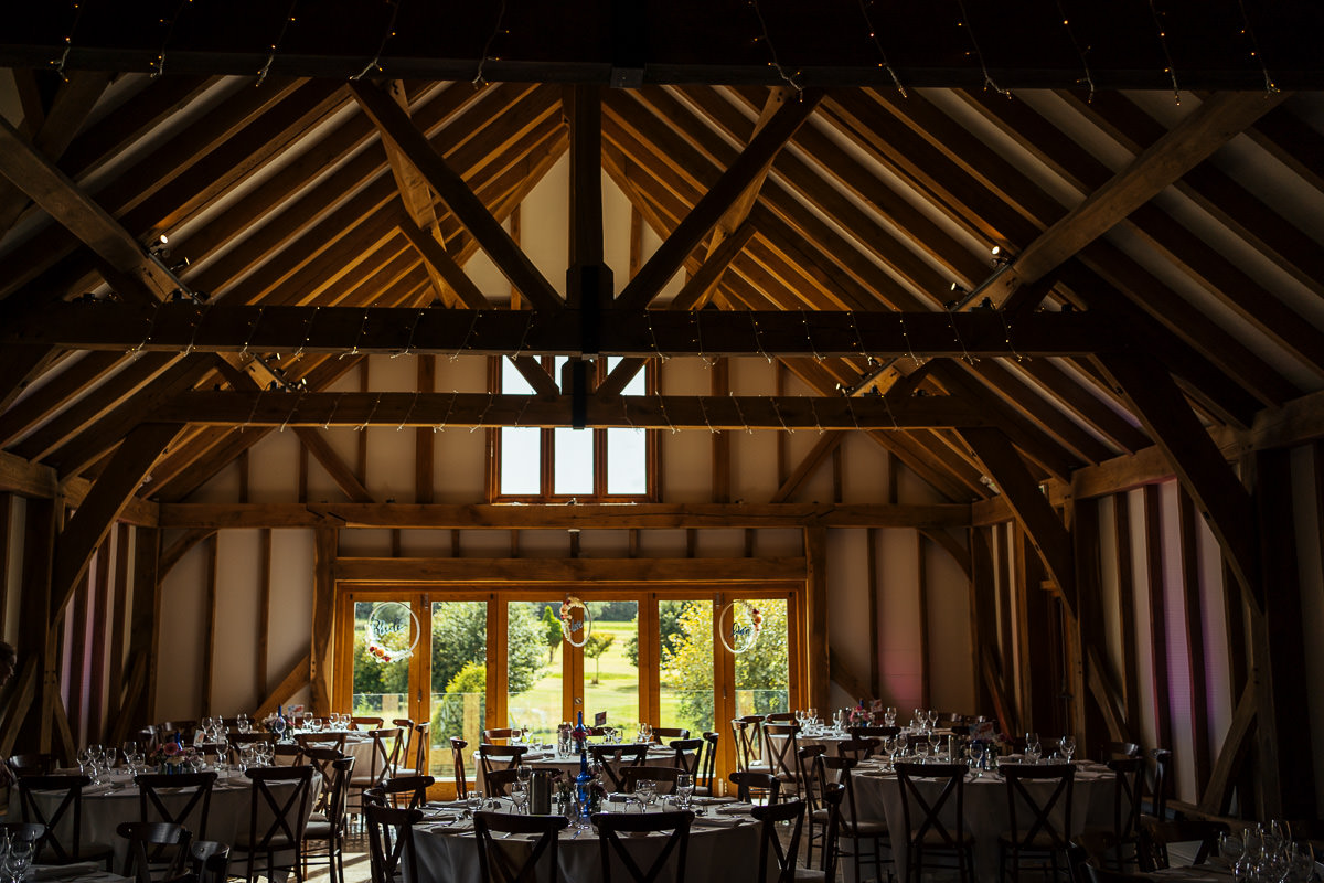 Brookfield Barn wedding reception