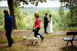 The Beacon, Tunbridge Wells wedding portrait