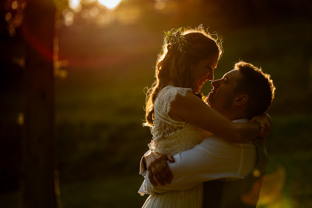The Beacon, Tunbridge Wells wedding photography sunset couple portrait