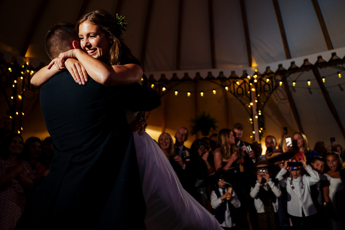 The Beacon, Tunbridge Wells bride & groom first dance