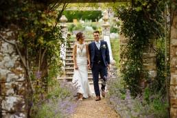 Wiston House wedding couple photography