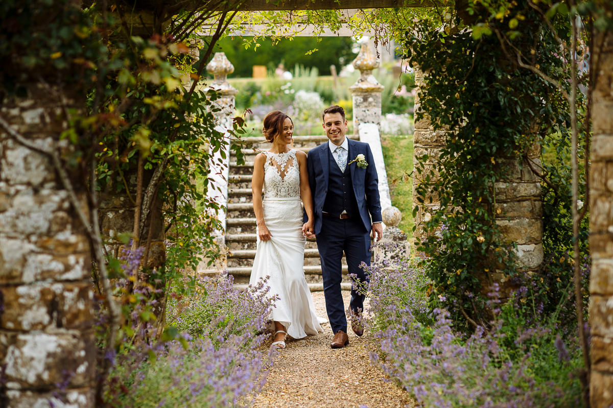 Wiston House wedding couple photography