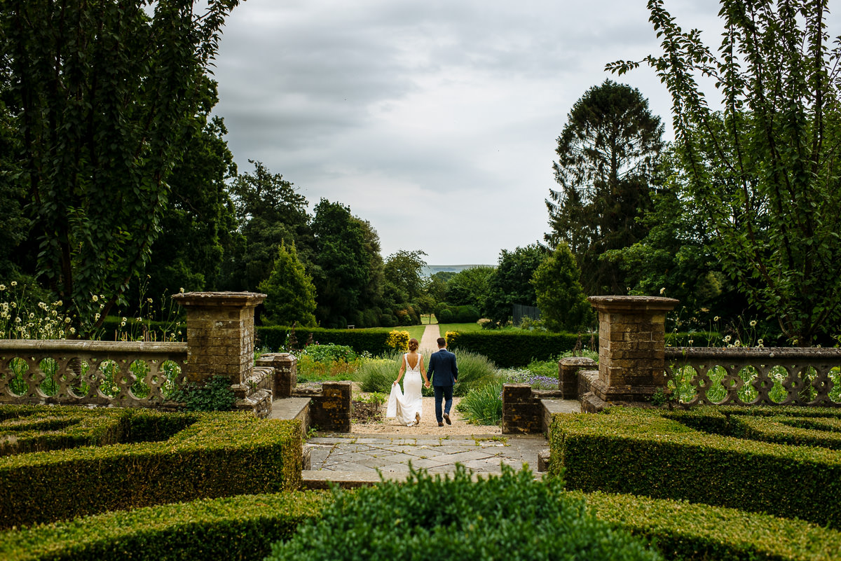 Wiston House wedding photography bride & groom