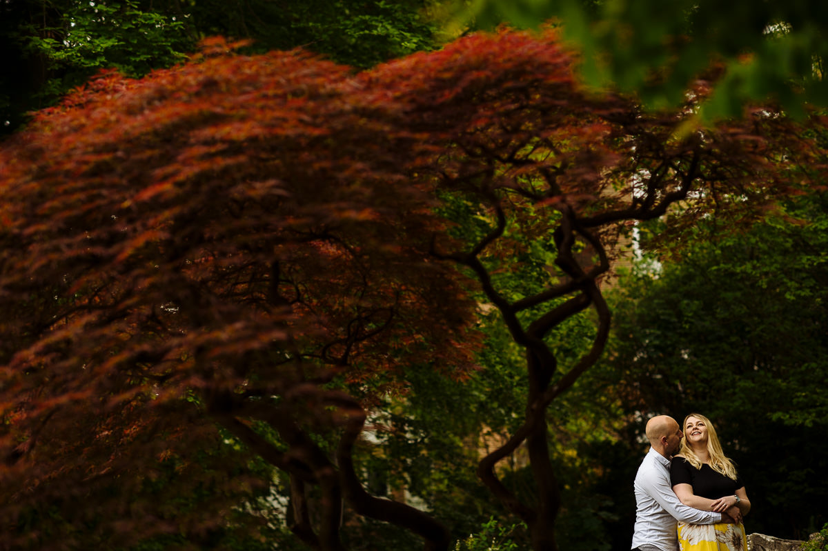 Brighton engagement shoot at the Rockery Preston Park